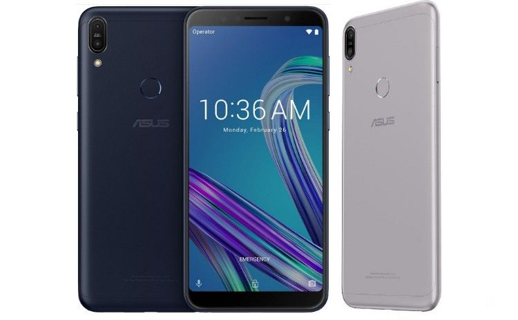 ASUS ZenFone Max Pro M1 Deepsea Black and Gray