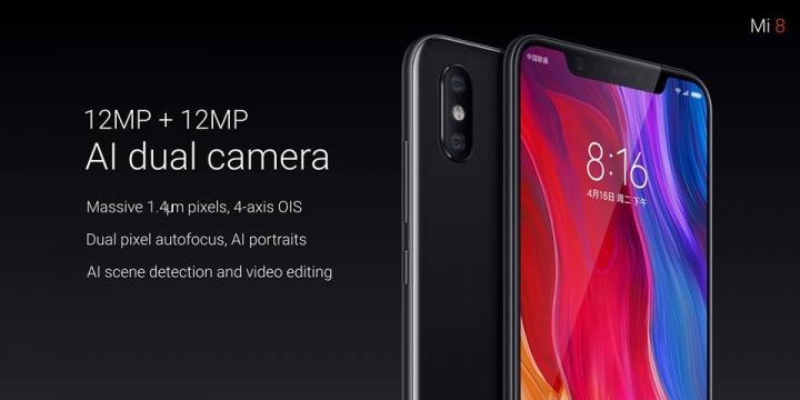 Xiaomi Mi 8 Dual Cameras