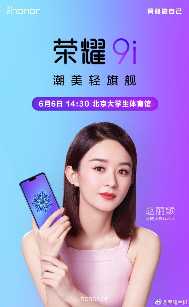 Honor 9i June 6 Launch