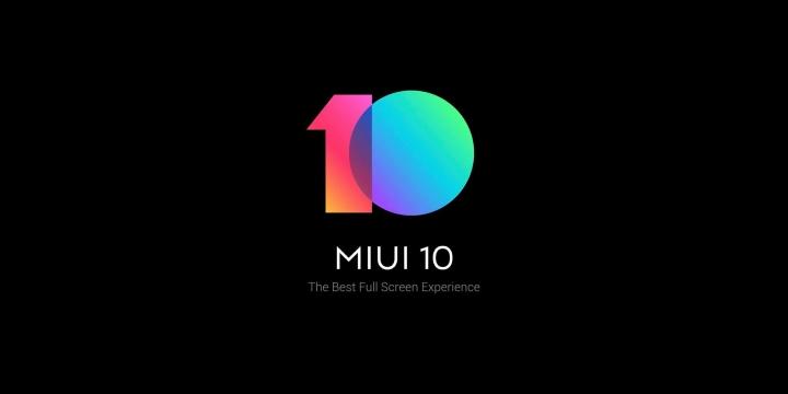 MIUI 10 header