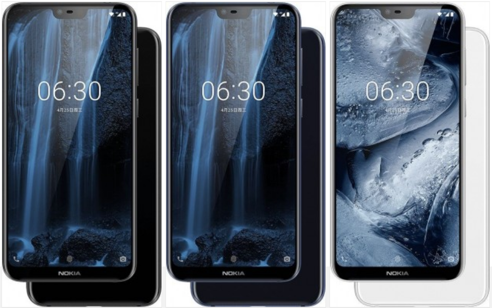 Nokia X6 Color Variants