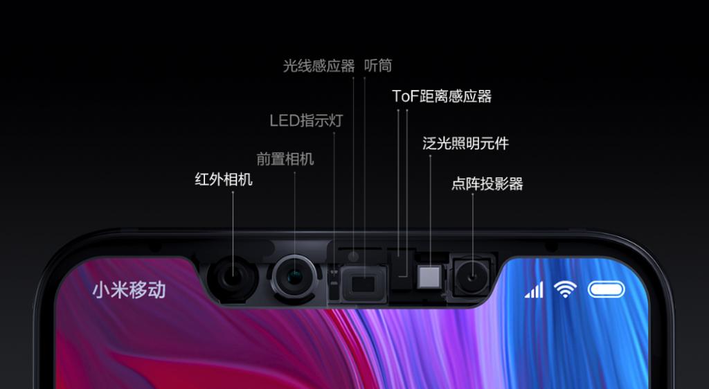 Xiaomi Mi 8 Explorer Edition 3D Face ID