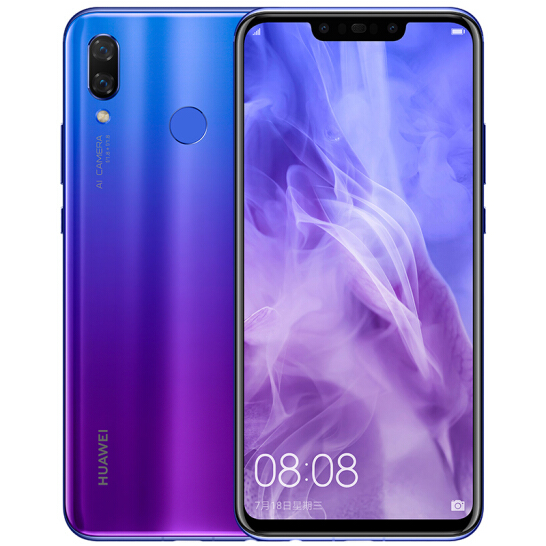 Huawei Nova 3 Blue Purple