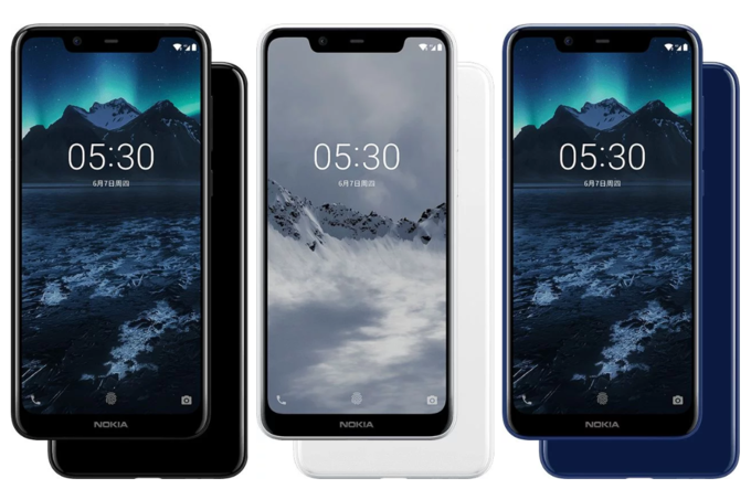 Nokia X5 Color Variants