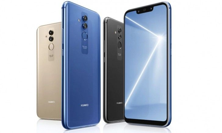 Huawei Mate 20 Lite official