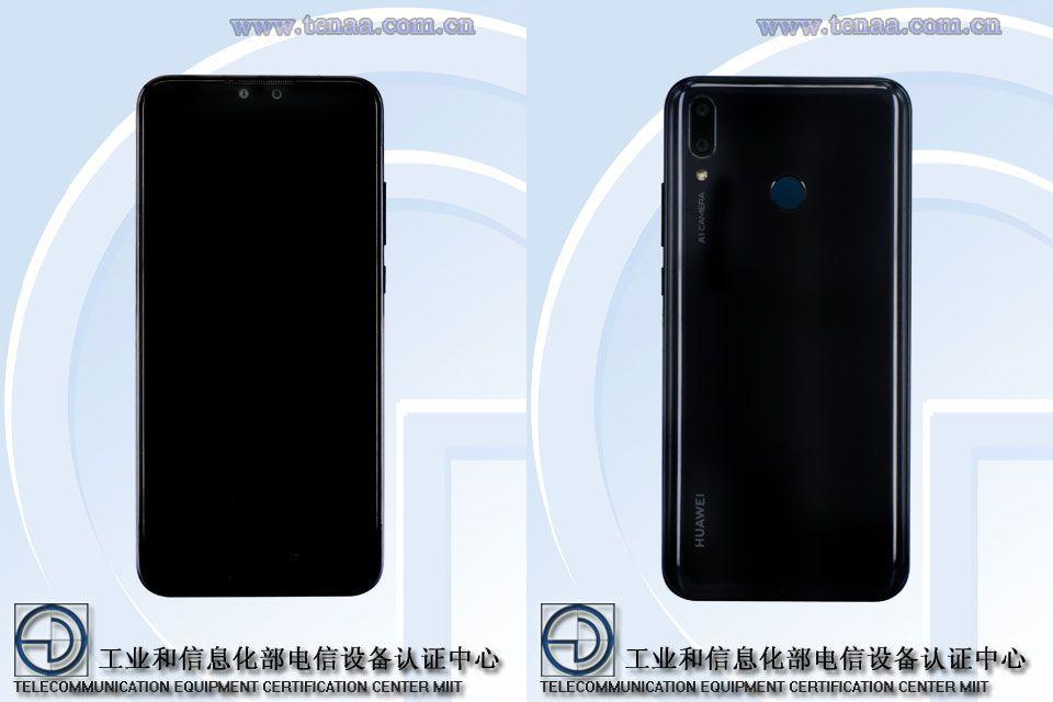 Huawei Y9 2019 TENAA