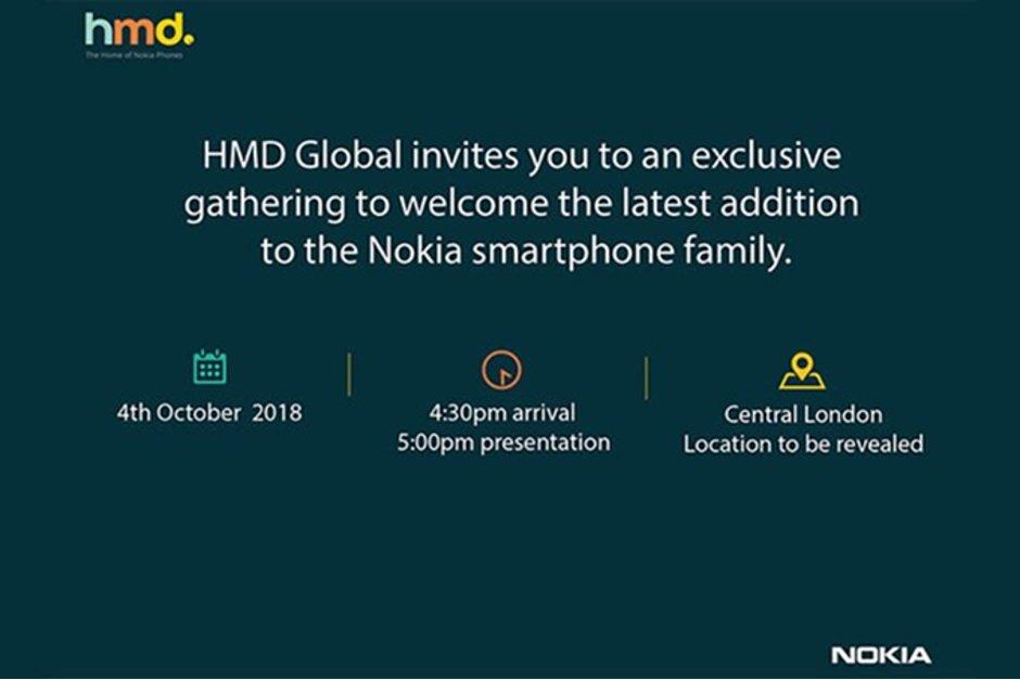 Nokia October 4 Launch Event