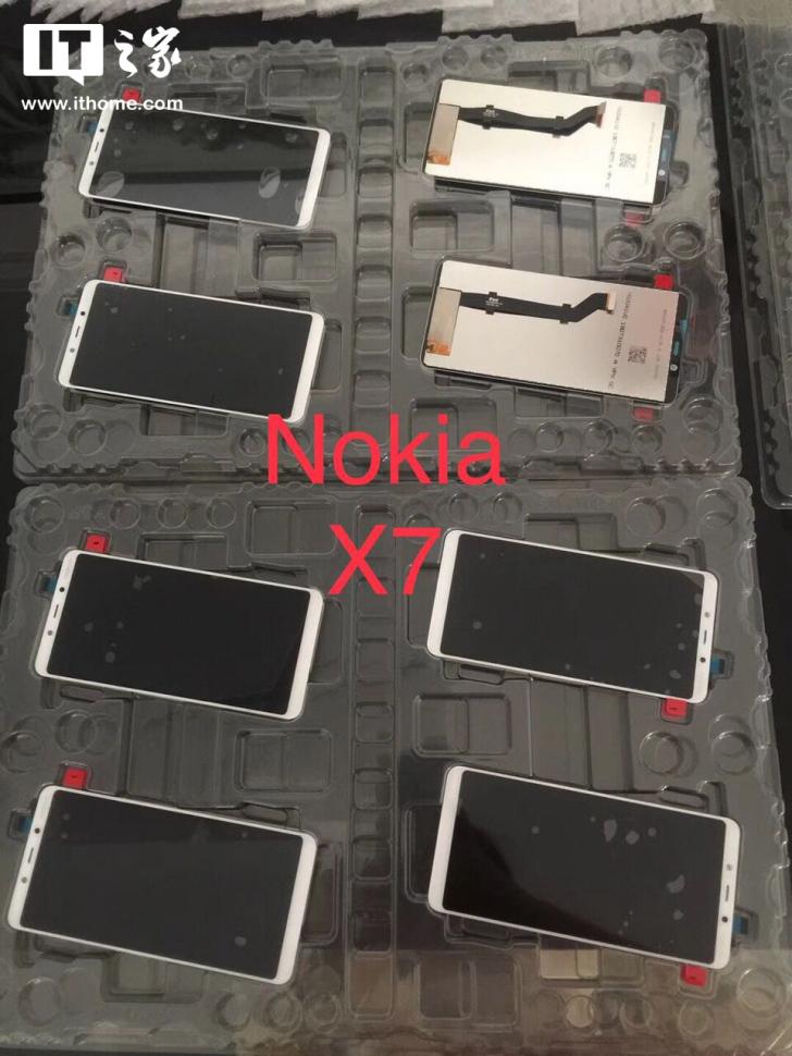 Nokia X7 display panel leak