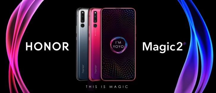 Honor Magic 2 color models