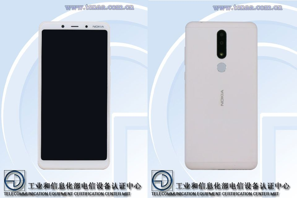 Nokia 3.1 Plus TENAA