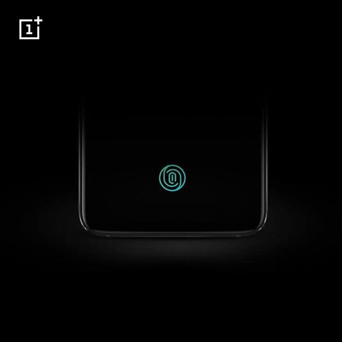OnePlus 6T optical in-display fingerprint scanner