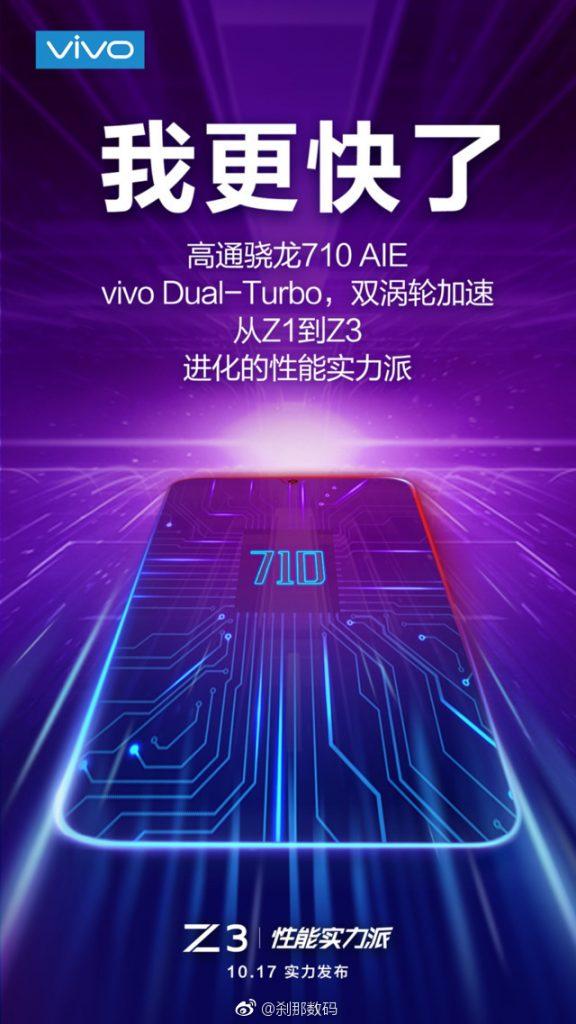 Vivo Z3 October 17