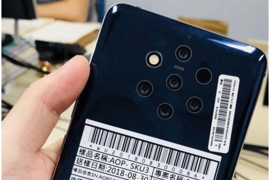 Nokia 9 Penta Lens