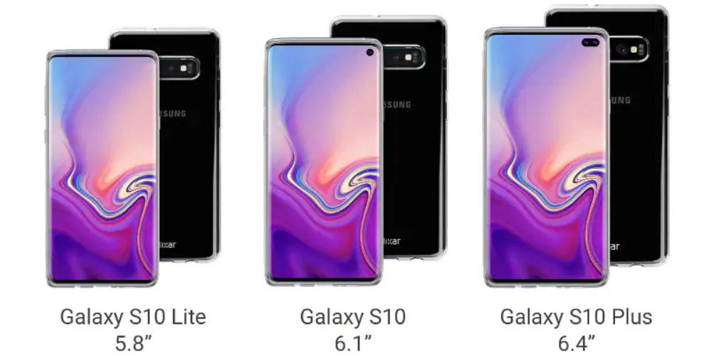 Samsung Galaxy S10 series leak