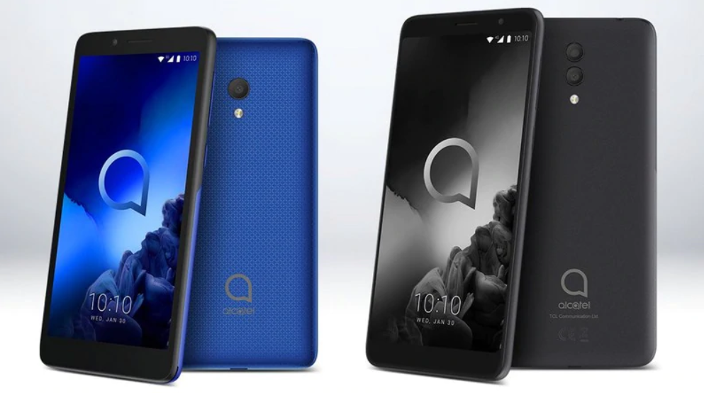 Alcatel 1x (2019) and Alcatel 1c (2019)