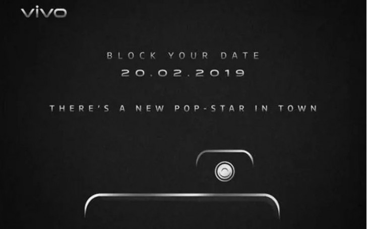 Vivo V15 Pro February 20 launch teaser