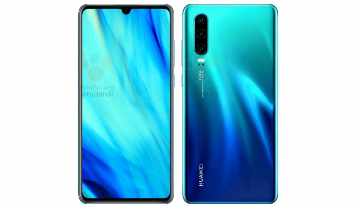 Huawei P30 Sea Green