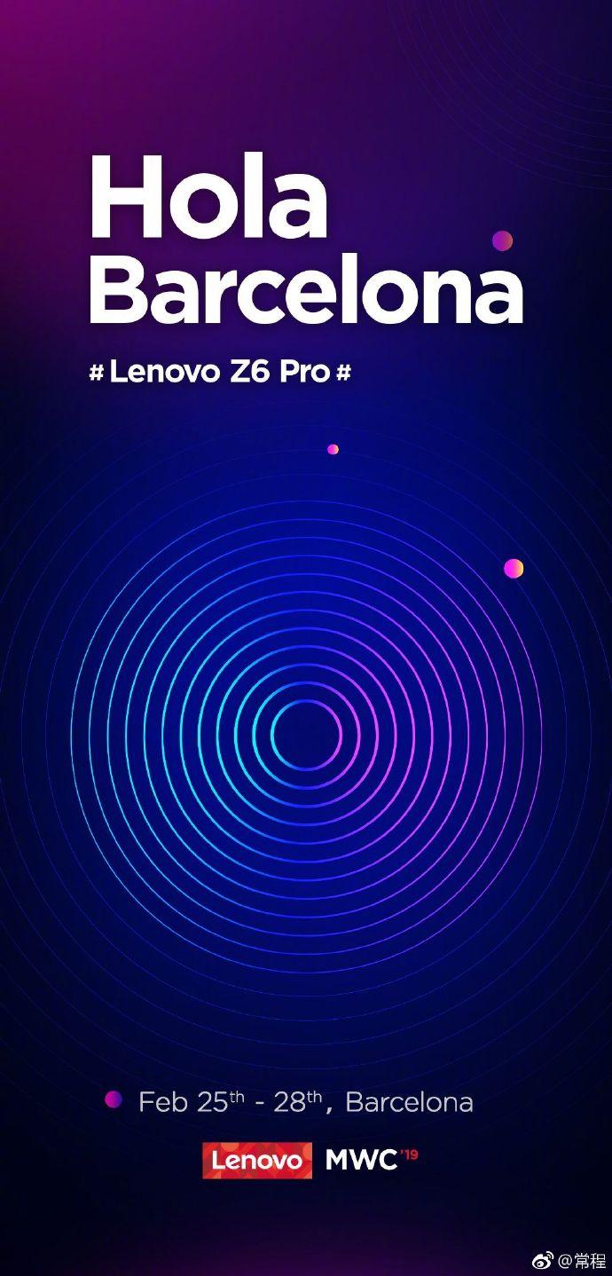 Lenovo Z6 Pro MWC 2019 Launch