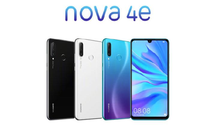 Huawei Nova 4e color