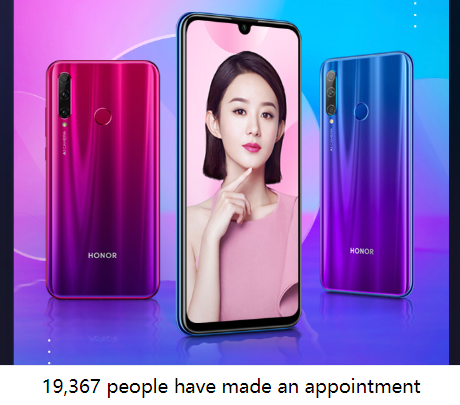Honor 20i reservations