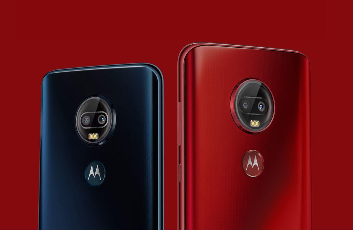 Motorola G7 Plus for China
