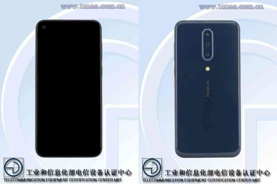Nokia 8.1 Plusa TA-1188 TENAA