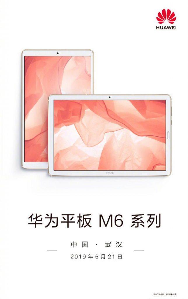 Huawei MediaPad M6 Promotional Poster