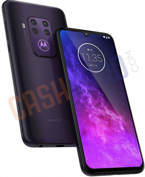 Motorola One Pro Leaked Render