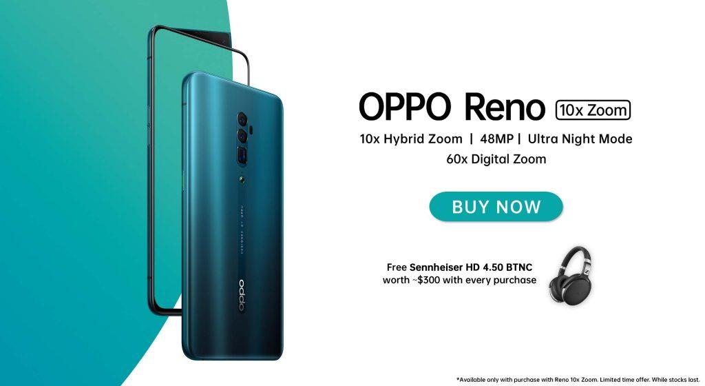 OPPO Reno 10x Zoom Singapore