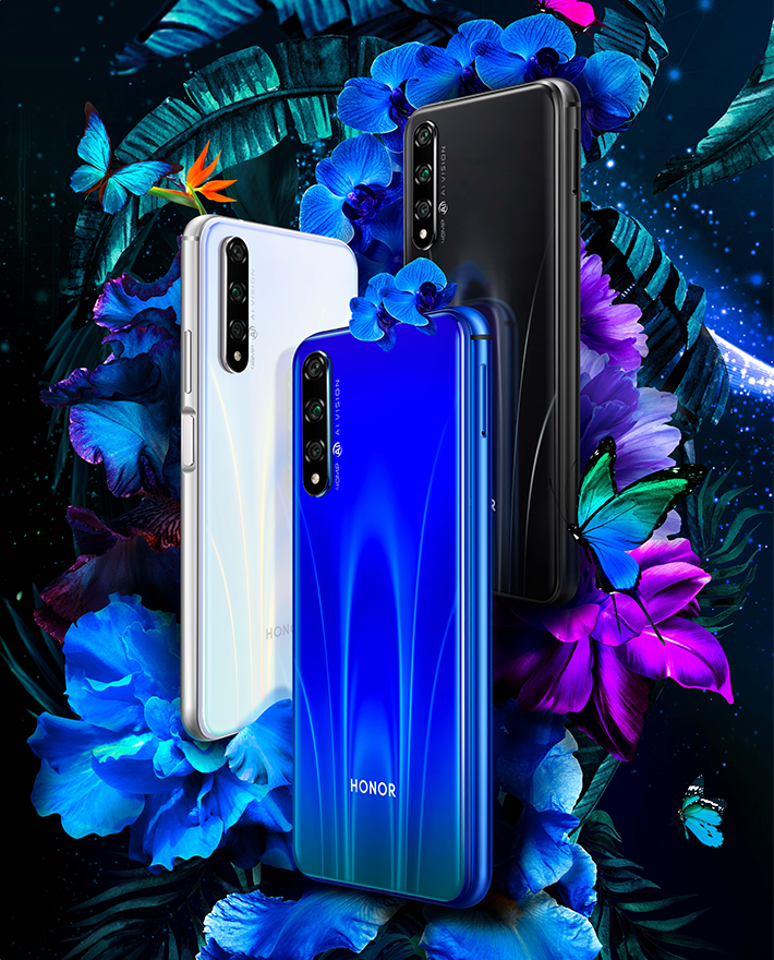 Honor 20S Render