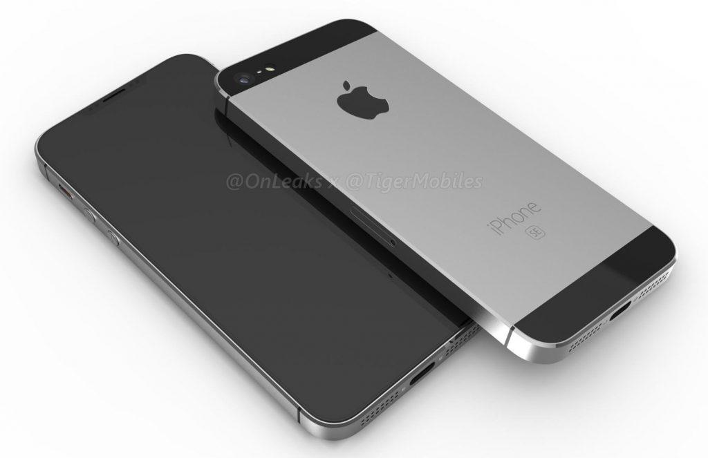 Apple iPhone SE 2 CAD Renders