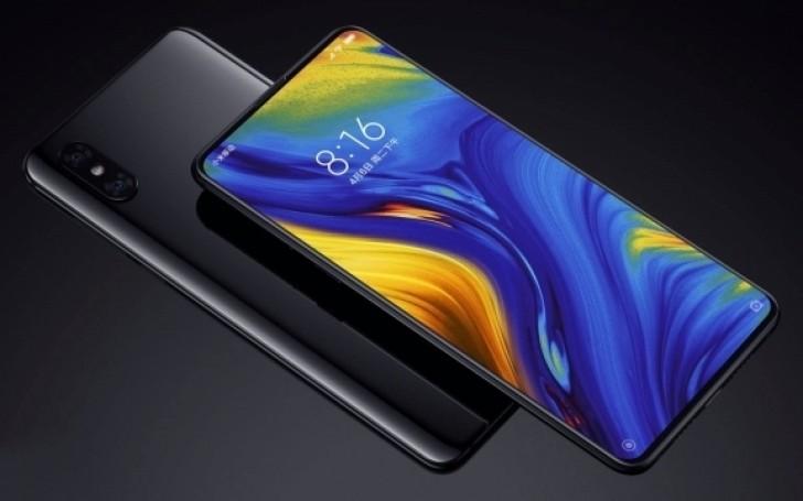 Xiaomi Mi Mix 3 Render