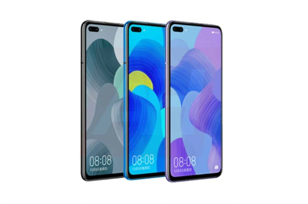 Huawei Nova 6 Render