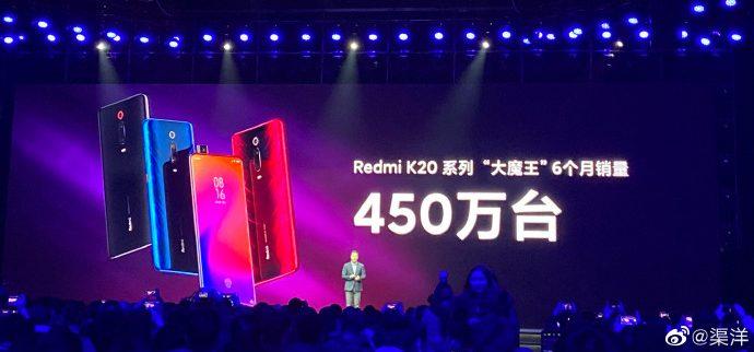 Redmi K20 Sales Figure