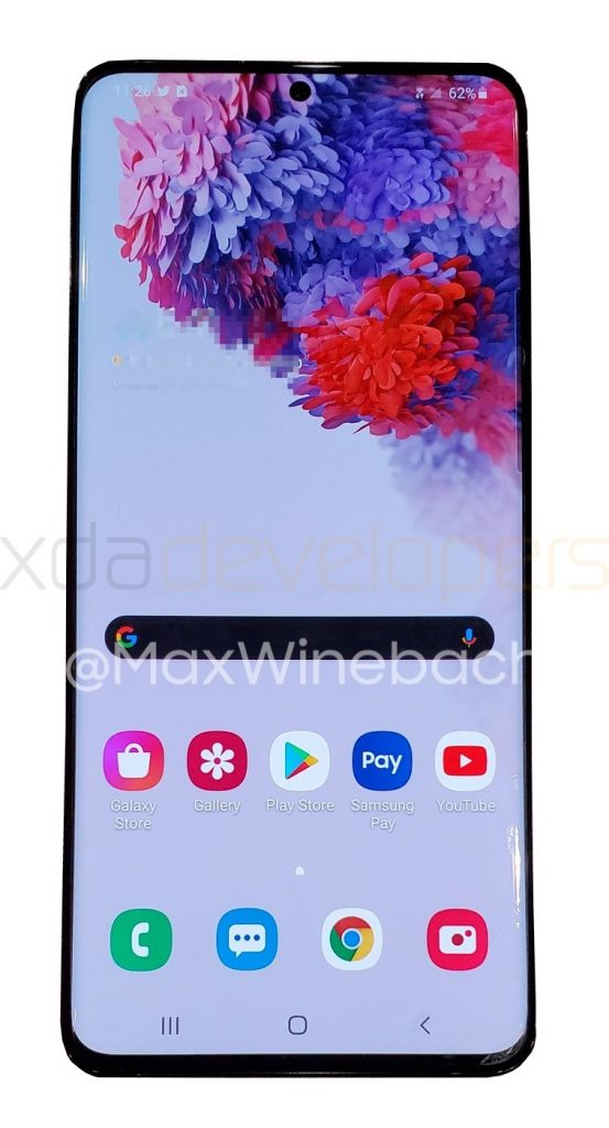 Samsung Galaxy S20+ Leaked