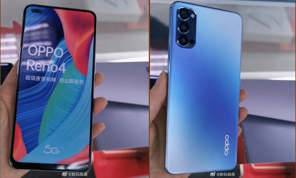 OPPO Reno4 5G, Reno4 Pro 5G Phones Appear in Live Shots - Playfuldroid!