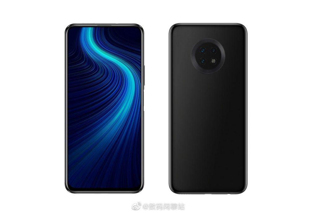 Huawei Enjoy 20 render leak