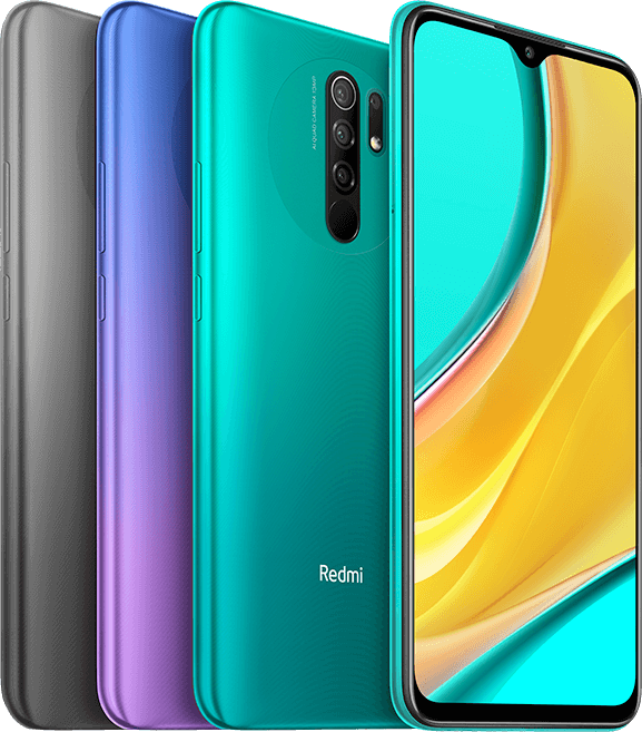 Redmi 9 Color Options