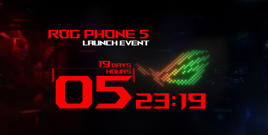 ASUS ROG Phone 5 March 10 launch event