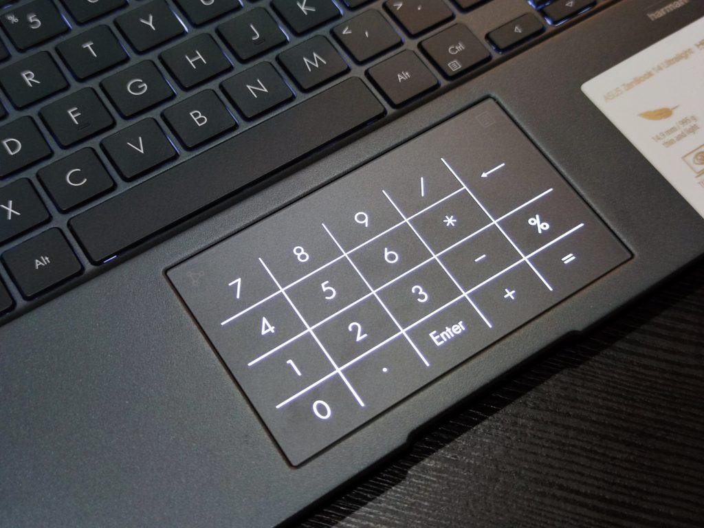 ASUS ZenBook 14 UltraLight NumberPad 2.0