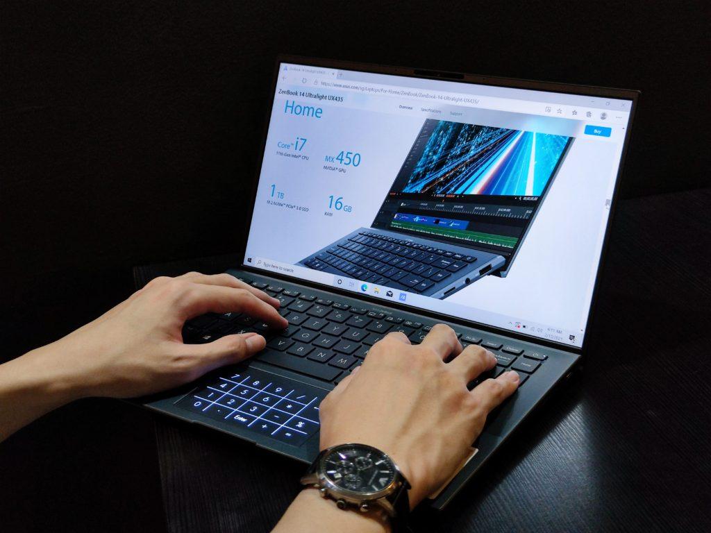 ASUS ZenBook 14 Ultralight Ergonomic Design