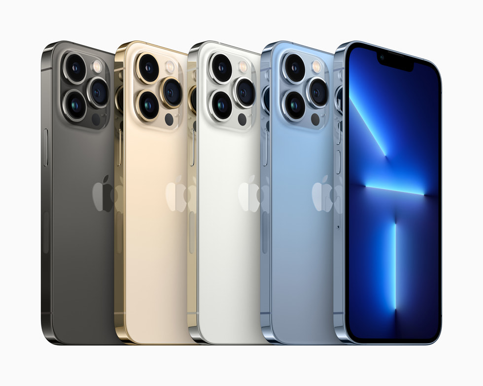 Apple iPhone 13 Pro Color Options