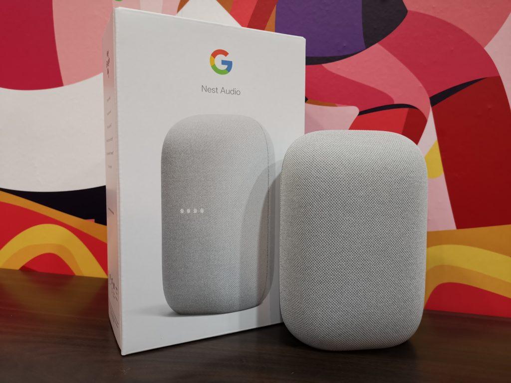 Google Nest Audio Front Design