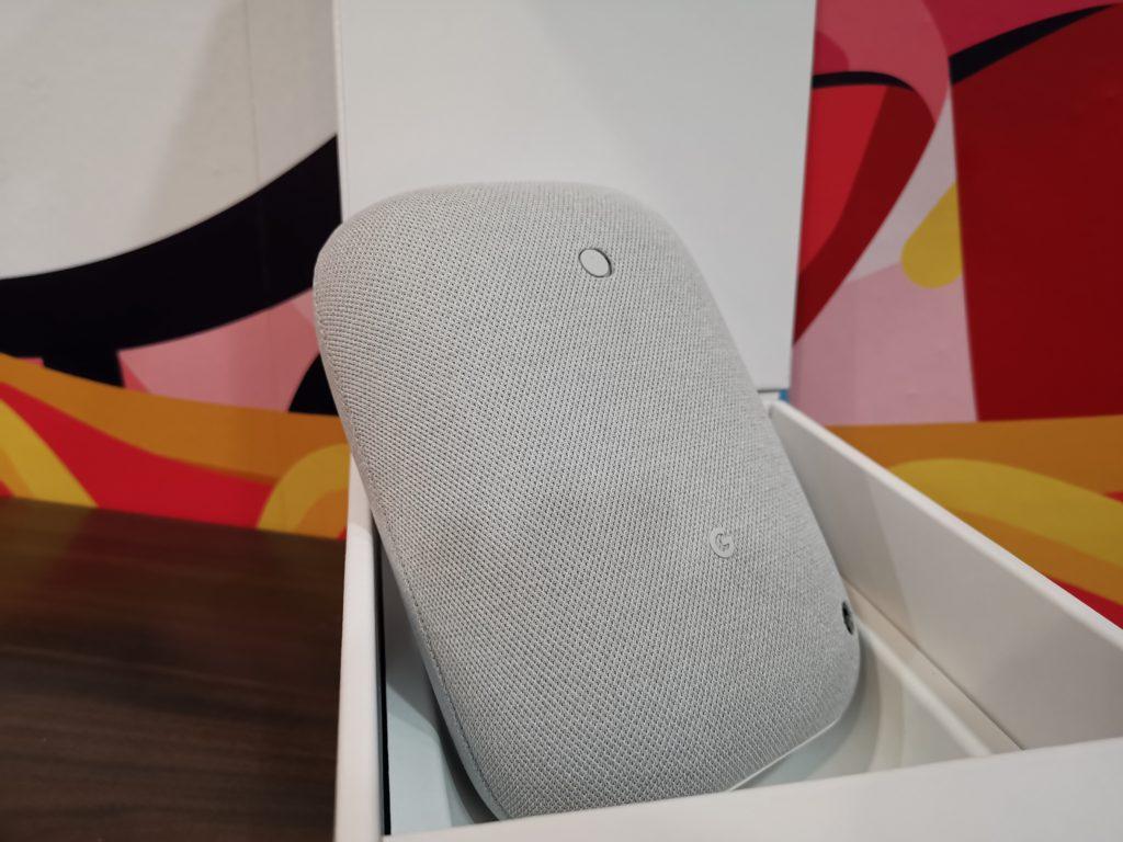 Google Nest Audio Rear Design