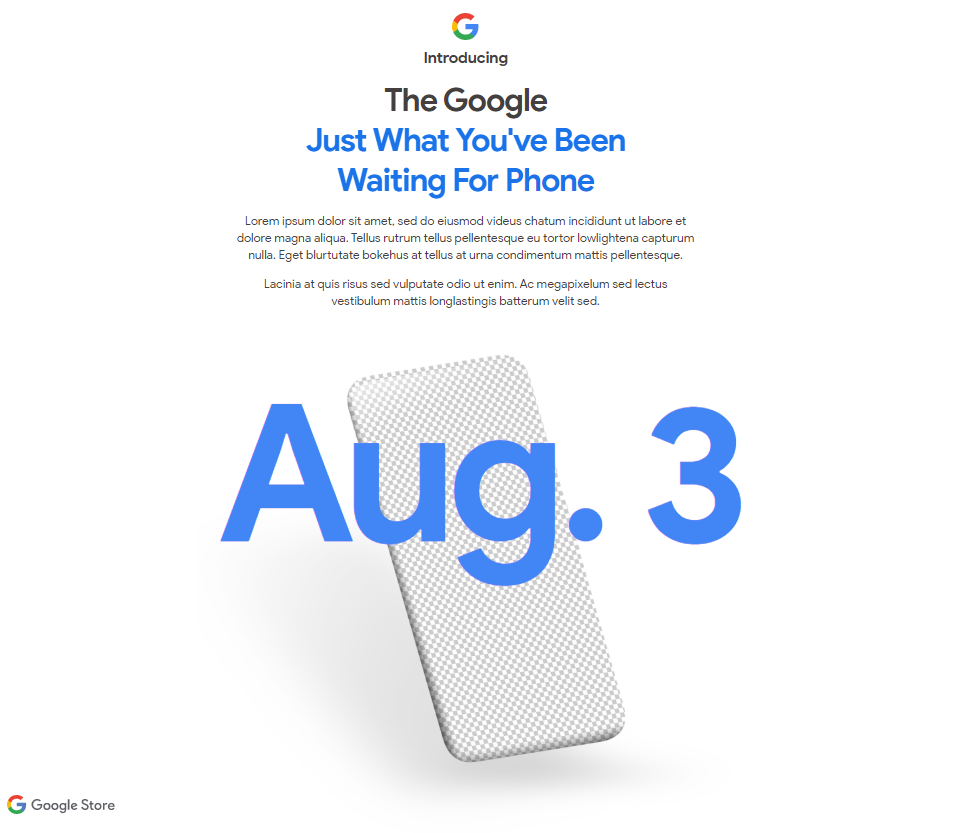 Google Pixel 4a Launch Date