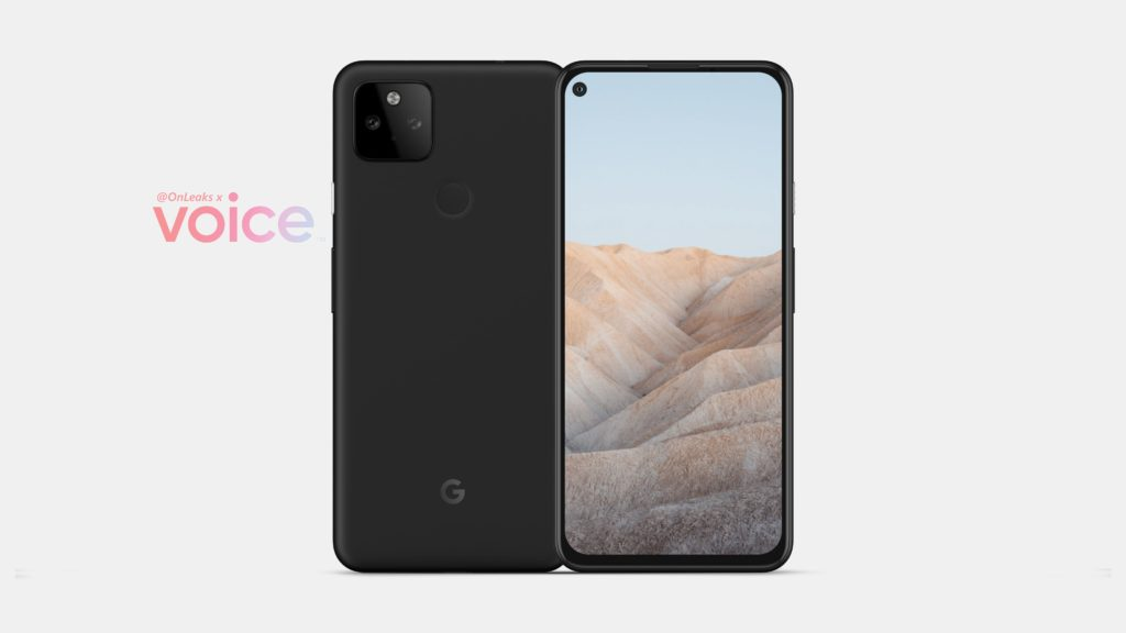Google Pixel 5a Render -1