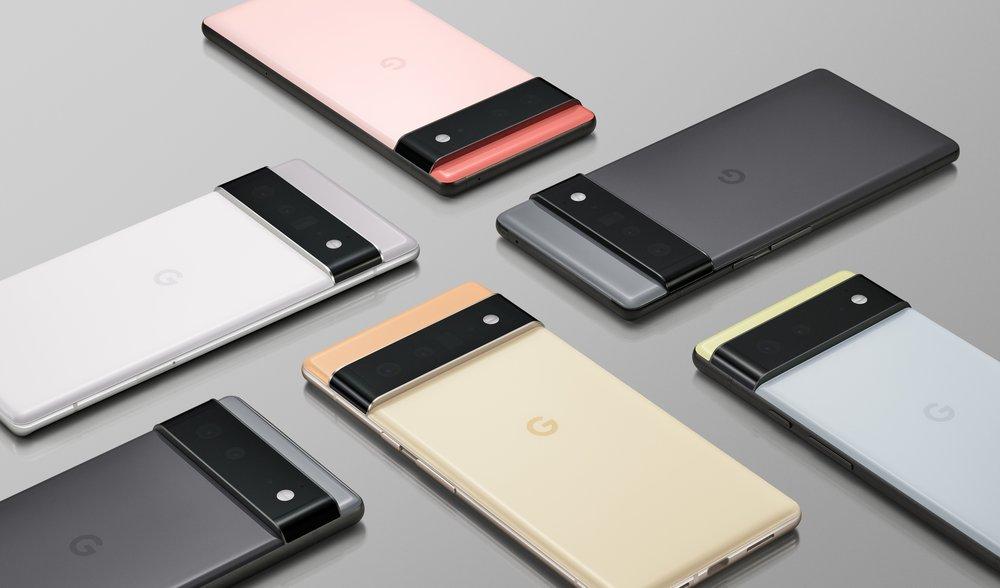 Google Pixel 6 & Pixel 6 Pro Render