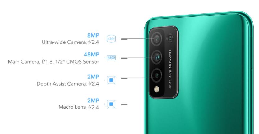 Honor 10X Lite Camera System