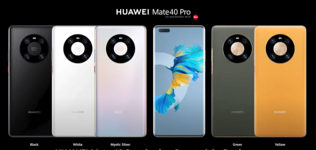 Huawei Mate 40 Pro Colors