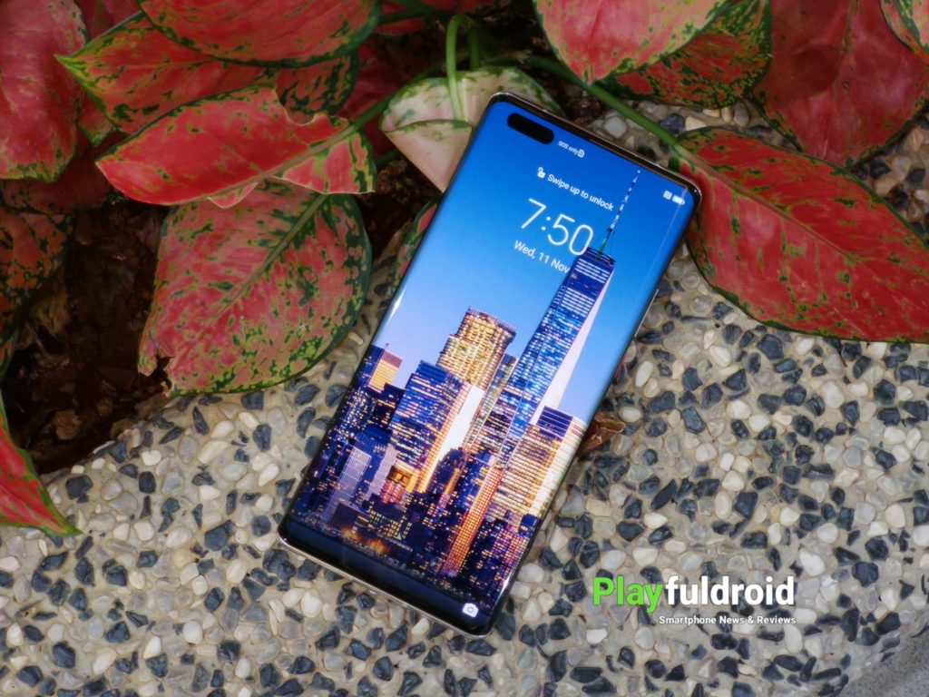Huawei Mate 40 Pro Front Design -1
